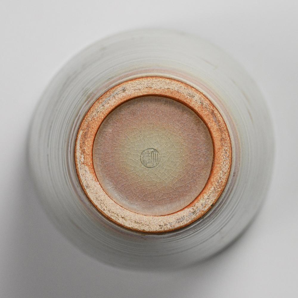 萩焼(伝統的工芸品)花入広口刷毛姫呉器