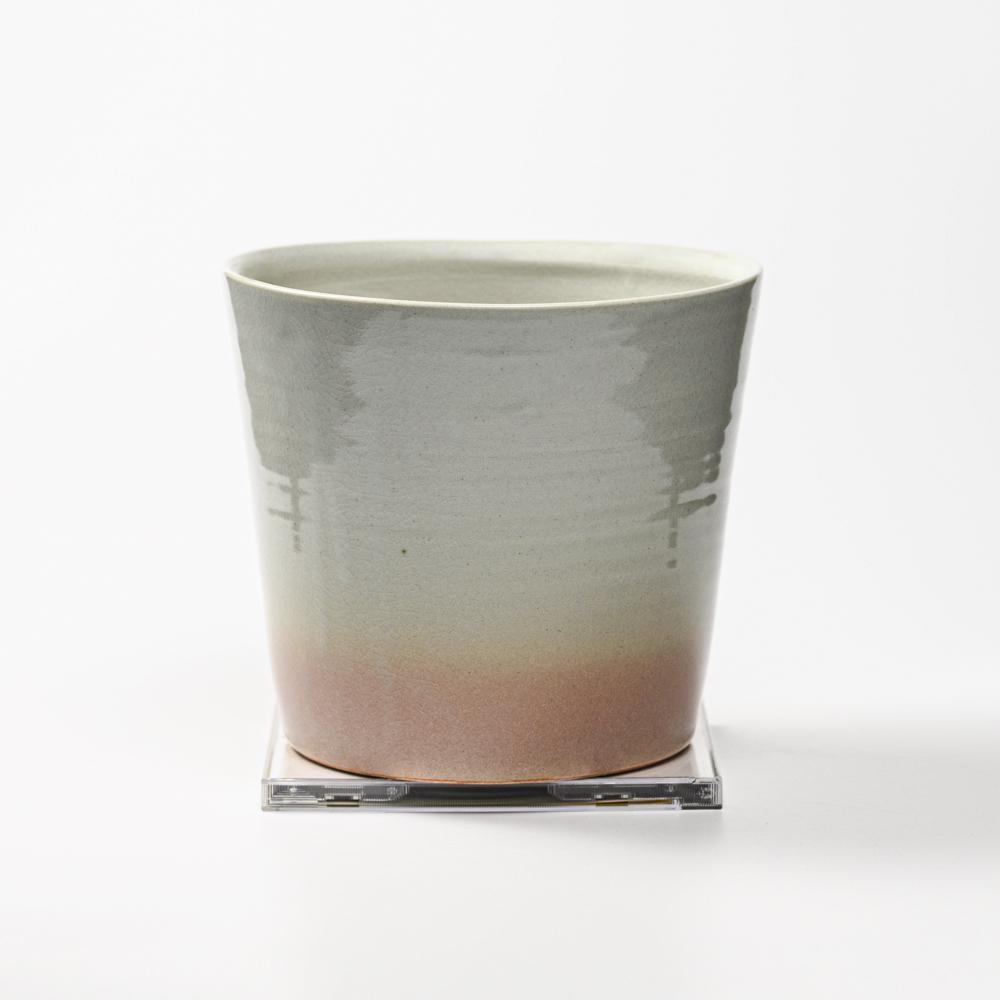 萩焼(伝統的工芸品)壷大刷毛姫荒丸