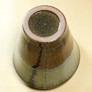 萩焼(伝統的工芸品)大壷鉄青釉肩衝広口