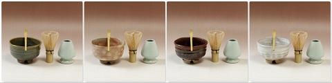 萩焼(伝統的工芸品)茶楽