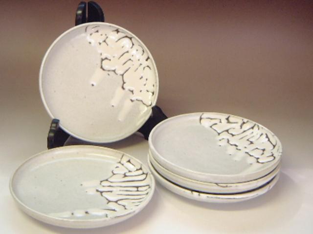 2004年(平成16年)第29回伝統的工芸品公募展-組皿鬼白丸