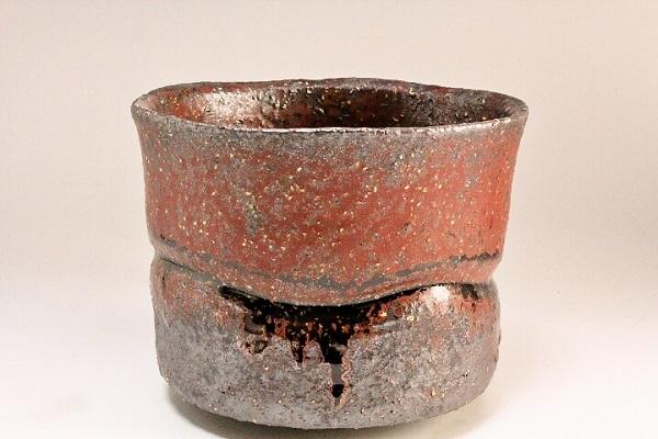 2014年(平成26年)第39回伝統的工芸品公募展-鉄釉茶盌】