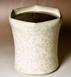1997年 第14回田部美術館大賞「茶の湯の造形展」入選 【彩釉六角水指 】