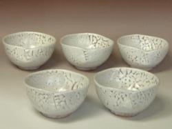 2005年(平成17年)第30回伝統的工芸品公募展-組鉢鬼白綴目