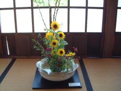 陶と花のコラボレーション