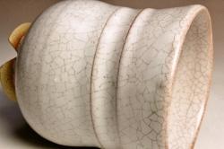 伝統的工芸品萩焼【萩の七化け】のご説明-白姫の使用後