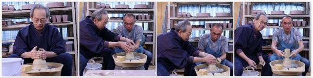 萩焼伝統工芸士・樋口大桂の萩焼技体験