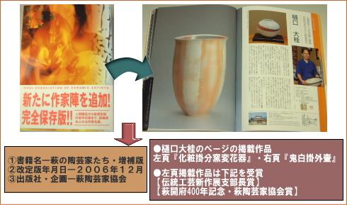 樋口大桂掲載書籍・萩の陶芸家たち改定版