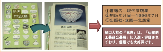 樋口大桂掲載書籍・現代茶碗集
